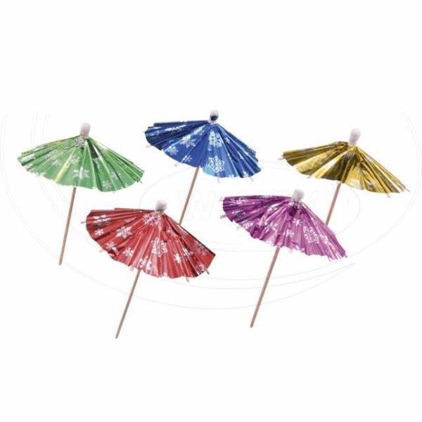 Deštníček lesklý 100 mm [100 ks]