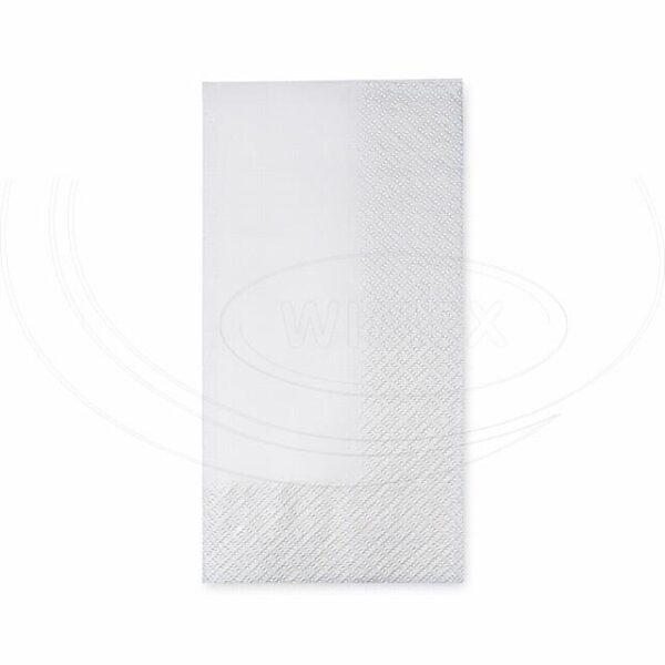 Obrúsky 2-vrstvé, 40 x 40 cm biele 1/8 skladanie [250 ks]